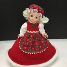 "Vtg Madame Alexander Mrs. Santa Claus Doll 8"" Super Clean!"