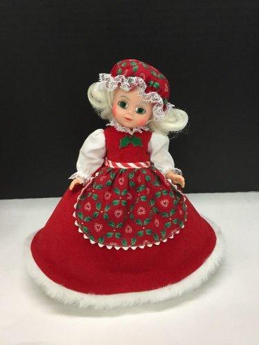 "Vtg Madame Alexander Mrs. Santa Claus Doll 8"" Super Clean!"
