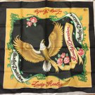 New Old Stock Harley Davidson Bandana Lady w/ Eagle 31x29 USA Made