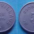 St. Paul MN German Village 5c merchant token