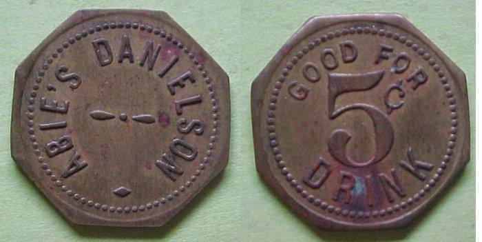 Maverick - Abie's Danielson 5c drink merchant token
