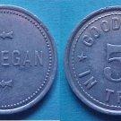 Maverick - J. J Egan 5c merchant token