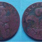 Brighton England 1794 halfpenny token George Prince of Wales