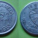 Alameda CA NAS Alameda 25th Anniversary 1965 token K-99