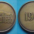 San Diego CA 1981 medal - stylized skyline