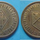 Bloomington IL Zerubbabel Chapter Princes of Jerusalem Masonic Scottish Rite medal