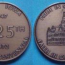 Adel IA Quasquicentennial 1972 medal