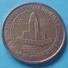California State Numismatic Association CSNA Fall 1968 medal - Los Angeles City Hall