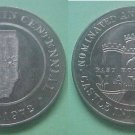 Rankin IL Centennial 1972 medal Castle International