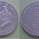 Vancouver Wenatchee WA ALCOA 1940 aluminum medal