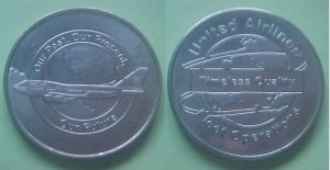 United Airlines Fleet Operations Timeless Quality medal