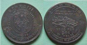 Lynnwood WA BPOE Elks 2171 1966 50c trade token