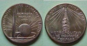 New York NY Metropolitan Life Insurance New York World's Fair 1939 spinner