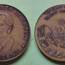 Lyndon Johnson - Great Society 1964 medal