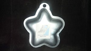 Wilton Singles star cake pan Used Holiday 4th of July Christmas