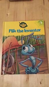 A BUG'S LIFE Vol. 1 Flik the Inventor from Disney Pixar 1995 Hardcover Book