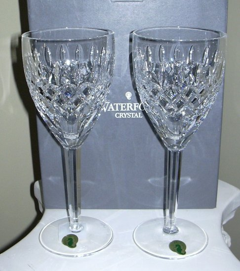 WATERFORD ALL PURPOSE GOBLET PAIR