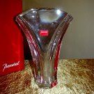 BACCARAT GINKGO VASE *NEW IN BOX* & Gorgeous!
