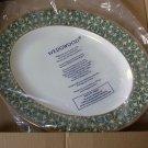 "Wedgwood Everleigh 13.75"" Oval Serving Platter"