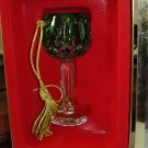 GORHAM LADY ANNE HOCK WINE ORNAMENT EMERALD
