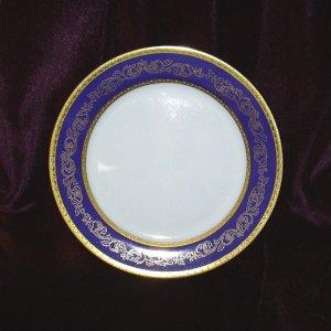 ROYAL FERNWOOD PORCELAIN CLEZIO BLUE SALAD PLATE