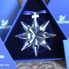 Swarovski 2009 Annual Snowflake Ornament New in Box