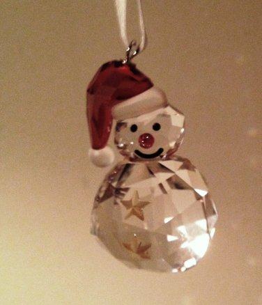 Swarovski Rocking Snowman Ornament