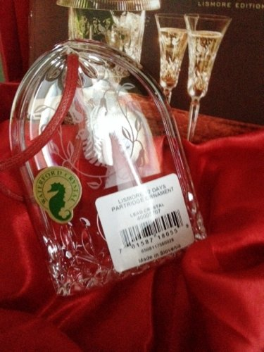 Waterford 2015 Lismore 12 Days of Christmas Partridge Ornament
