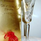 Waterford Lismore Gold 12 Days of Christmas Partridge Flute