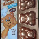 Wilton Teddy Bears Mini Treats Pan