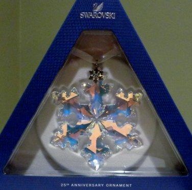 Swarovski 25th Anniversary Ornament Limited Edition