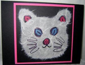 Handmade Card - Cat
