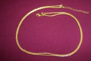 Duo Goldtone Necklace