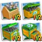 Pruning Shears! 100 (25 packs) - Farmville 2