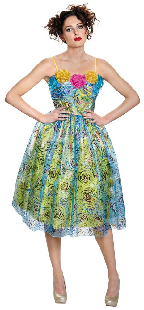 Disney Princess DRISELLA MOVIE ADULT Dress Deluxe Costume Licensed Medium 8-10