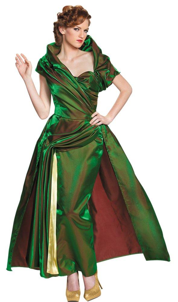 Disney LADY TREMAINE MOVIE Adult Dress Deluxe Costume Large size 10-12