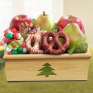High Sierra Christmas Crate Gift Basket