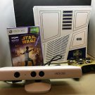 MICROSOFT XBOX 360 STAR WARS WHITE KINECT SPECIAL EDITION 320 GB BUNDLE!
