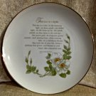 Decorative Plate*Japan*Inspirational Writing*Genuine Porcelain