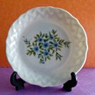 VNTG Norleans China Candia Display Plate with Stand*Size 4''*Floral Design*Japan