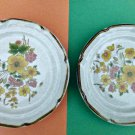 Set of 4 Salad Plates Endura Collection International China Stone Ware Japan