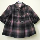 H&M Toddler Girl Size 4-6 M Wool Lightweight Jacket/Coat Outwear Trench