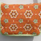 $45 SALE ITEM-8x10 Shoulder-Cross Body Bag-Orange and Spring Green