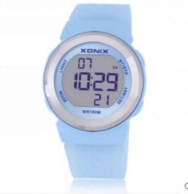 Xonix Women Sports Watch Digital WR100M Outdoor Multi Function Swim Diver Watch