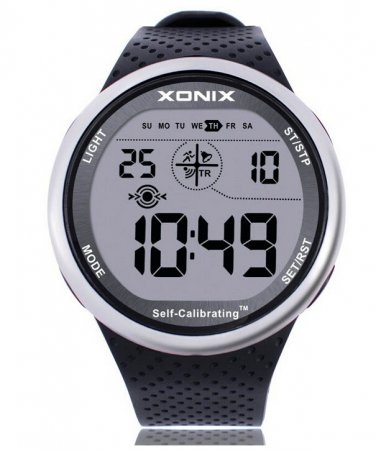 Xonix Mens Sports Watch Digital Self Calibrating WR100m  Multifunction Swim Outdoor Wristwatch