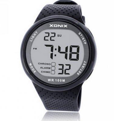 Xonix Men Sports Watch Digital WR100M Swim watch Led Light Outdoor Wristwatch
