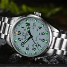 Carnival Men Tritium light Watch T25 Quartz Date Luminous Military Wristwatch