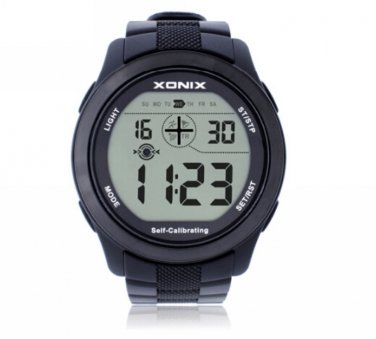 Xonix Men Sports Watch Digital Self Calibrating WR100M outdoor Watch