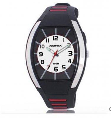 Xonix Women Sports Watch WR 100M Led Light Girls Dress Wristwatch Quartz Analog