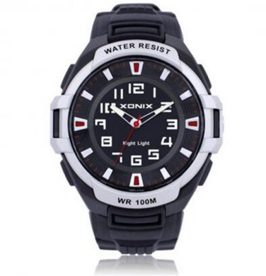 Xonix NEW Men Sports Watches Quartz Analog WR100M Japan Mov't Back Light